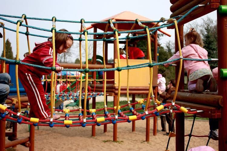 Igraonica u kojoj se igraju deca